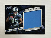 COREY DAVIS 2017 Panini Black Friday TOTT SP RC GU JUMBO PATCH JERSEY! HUGE SALE