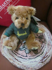 Harrods Dept Store Teddy Bear London England Plush Kids Toy Collectible Uk 2002