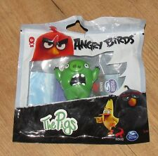 Rovio Angry Birds I Suini Screaming Figura SPIN MASTER BLACK NUOVO SIGILLATO Bag 5 cm