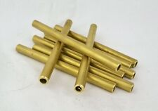 8mmx100mm 1.0 Wall Brass Tube for Handle Making Knife Scales Lanyard Pins