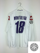FIORENTINA MONTOLIVO #18 08/09 * match preparata * C/L Away Football Shirt (Xl)