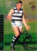 ✺Signed✺ 1996 GEELONG CATS AFL Card PAUL COUCH