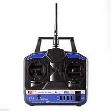 FlySky FS-T4B 4CH 2.4GHz Remote Controller Transmitter RC System +R6B Receiver
