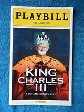 King Charles III - Music Box Theatre Playbill w/Ticket - January 21st, 2016