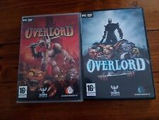 Overlord (PC, 1990) + Overlord 2 ( PC, 2007)