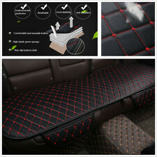 PU Leather Car Rear Back Universal Seat Cover Pad Mat Chair Protector Cushion