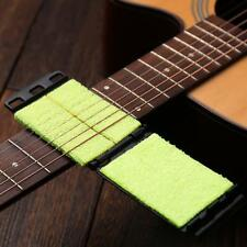 1 stücke E-gitarre Bass Saiten Scrubber Rub Reinigung Wartung Pflege Reiniger