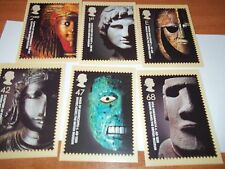 The British Museum 7 October 2003 PHQ 258 set Royal Mail Stamp Card Series