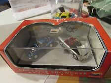 Hot Wheels Collectibles Corvette Showcase w/display case Set 2 of 2