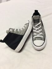 All Star Converse Chuck Taylor H Top Women's Size 6 Gray/Bl UK4 Eur 36.5 ....A40