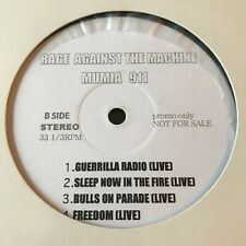 RAGE AGAINST THE MACHINE MUMIA 911 LP