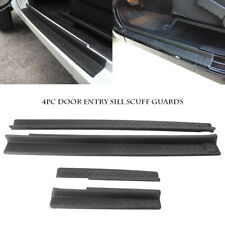 4pcs Door Entry Sill Plate Door Guard Protector for 2007-2017 Jeep Wrangler Jk (Fits: Jeep)