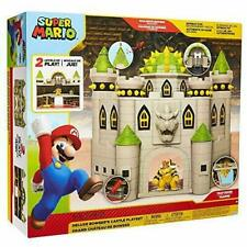 Nintendo Bowsers Castle Super Mario Deluxe Playset Brand New