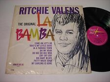 SHRINK Ritchie Valens The Original La Bamba 1963 Mono LP VG++