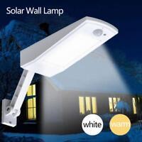 Waterproof 900LM Solar 48LED Motion Sensor Wall Light Outdoor Garden Street Lamp