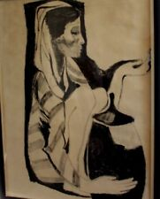 Künstlerische Malereien von 1900-1949 & Technik Berufe, Arbeitswelt -