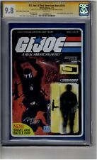 (B5) G.I. Joe: A Real American Hero #215 Action Figure Variant CGC 9.8 3x Signed