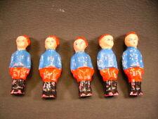"""BON-DUFOUR  figurine """" 5 soldats """" ( antic toys france )"""