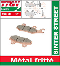 2 Plaquettes frein Avant TRW MCB615 SV Kawasaki ZL 125 Eliminator BN125A 00-