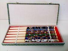 Chinese Chopsticks Vintage Chopsticks Set 6 Pairs Of Chopsticks From China