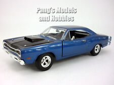 Dodge Coronet Super Bee -1969- 1/24 Scale Diecast Model by Motormax - BLUE
