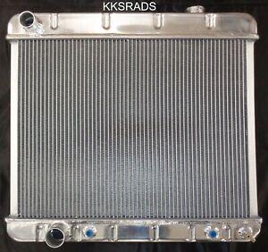 KKS MOTORSPORTS 3 ROW ALUMINUM RADIATOR 61 62 63 64 65 CADILLAC / 61 62 OLDS 88