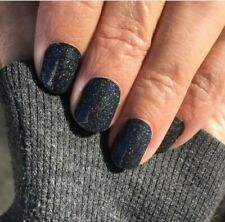 Color Street ONLY IN VEGAS (Black Sparkle Gold Holographic Fall Winter Holiday)