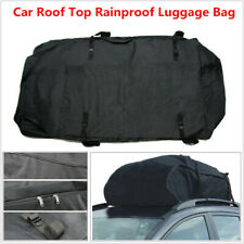 Car SUV Roof Top Bag Rack Cargo Carrier Luggage Storage Rainproof Large Capacity