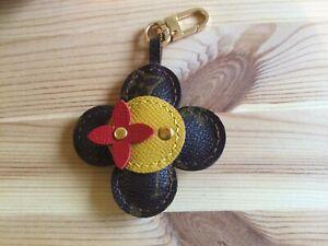 Flower Bag Charm Key Holder