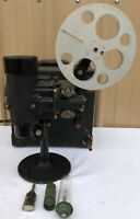 Bell & Howell Filmo Automatic Cine Projector, Cinemachinery 16mm, Case and Reel
