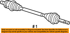 Jeep CHRYSLER OEM 13-14 Patriot Rear Suspension-Axle Assembly Right R5273438AG
