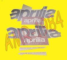 SERIE ADESIVI DECALCO CARENE APRILIA RS 125 1996/1997 GRIGIO  AP8147064