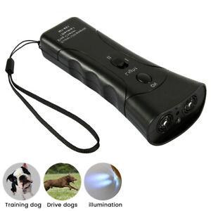 Petgentle Ultrasonic Anti Barking Pet Dog Trainer Device LED Light Gentle Cha KE