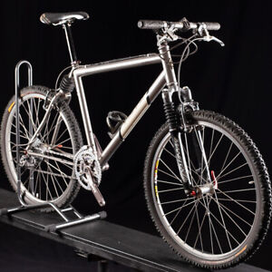 Vintage Ibis Silk Titanium Mountain bike Chris King XTR NICE! Size 20in