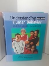 Understanding Human Behavior and the Social Environment 2004 (with InfoTrac).