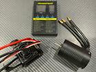 WP-10BL50 3800KV 1/10 RC Brushless Esc Motor Combo Fits Traxxas Rustler Bandit