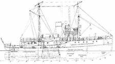 """Bauplan Motorschiff """"Altenbruch"""" Modellbauplan Schiffsmodell"""