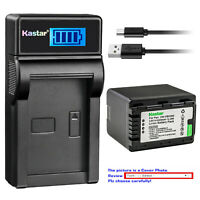 Kastar Battery LCD USB Charger for Panasonic VW-VBK360 & HDC-TM90 HDC-TM90GK