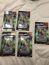 YuGiOh Legend of Blue Eyes White Dragon Blister Booster Packs + Cards Lot x 5