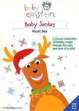 Baby Einstein ~ Baby Santa's Music Box ~ DVD ~ FREE Shipping USA
