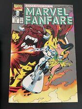 Marvel Fanfare # 51  (Marvel 1990) Newsstand Copy