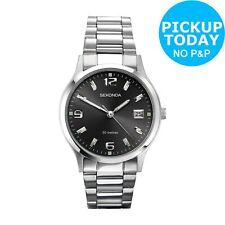 Sekonda Men's Stainless Steel Grey Dial Date Display Analogue Braclet Watch