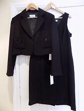 Calvin Klein women's stunning black dress & matching jacket blazer size 18 BNWT