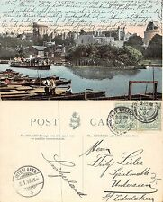 England - Windsor Castle ANIMATED YEAR 1906 SENT TO INTERLAKEN (A-L 183)