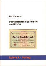 5011: Das wertbeständige Notgeld von 1923/24, Kai Lindman