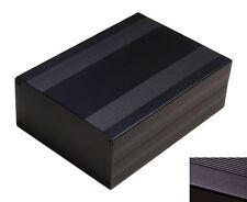 DIY Black Aluminum Project Box Enclosure Case Electronic Large _Big