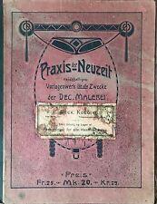 PRAXIXS DER NEUZEIT PORTE FOLIO ART NOUVEAU