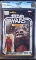 Star Wars (2015 Marvel) #15 Snaggletooth Action Figure Variant CGC 9.8