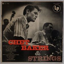"CHET BAKER: & Strings US Columbia CL 549 Orig '54 12"" Jazz LP Rare"