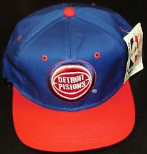 Detroit Pistons hat vintage DeadStock NEW Young An w/ tags NWT Bad Boys Era NBA
